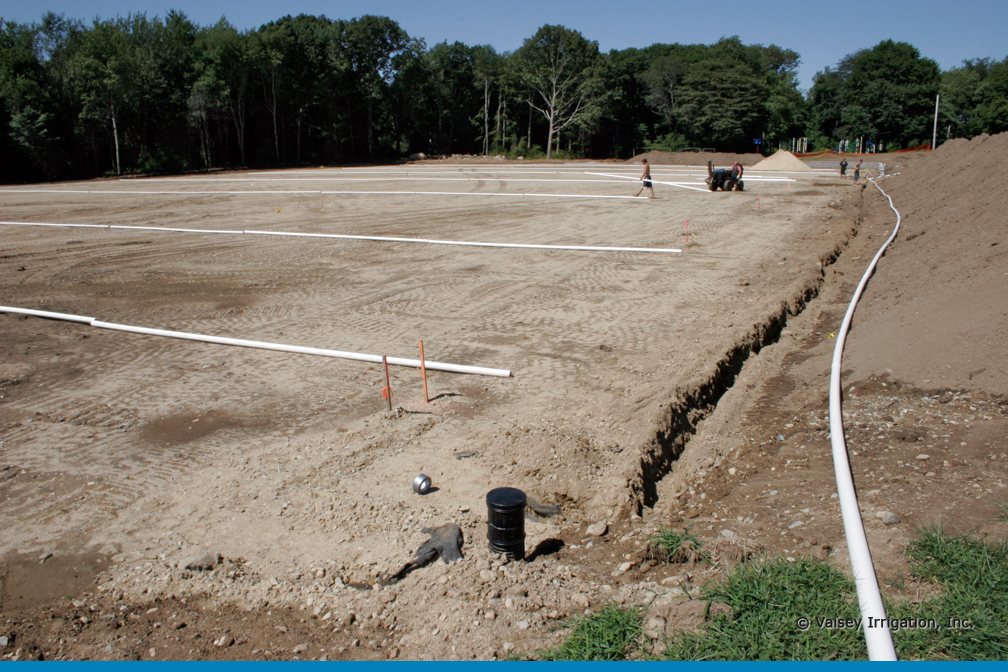 athletic fields irrigation systems
